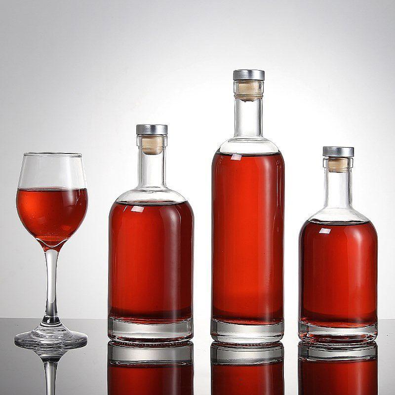 晶白料酒瓶-红酒瓶